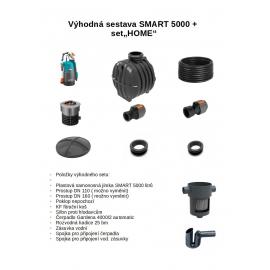 """PLASTOVÁ JÍMKA SMART 5000 + ZAHRADNÍ SET """"HOME"""""""