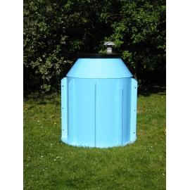 Plastová nádrž nad vrt, průměr 1000mm, výška 1300mm, dno tl.15mm, s žebry